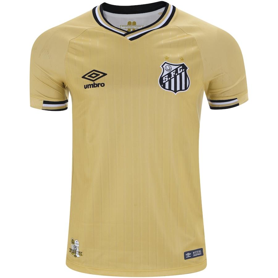 Camisa do Santos III 2018 Umbro - Masculina ac42e9b727e