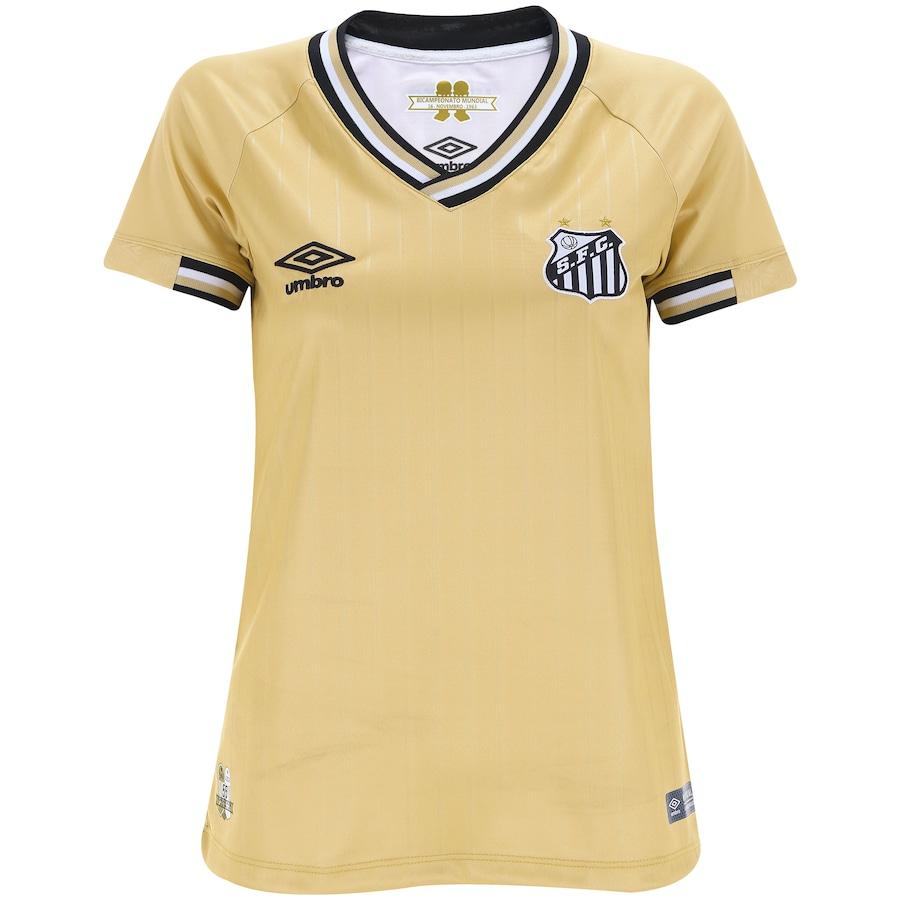 0e6067d601 Camisa do Santos III 2018 Umbro - Feminina