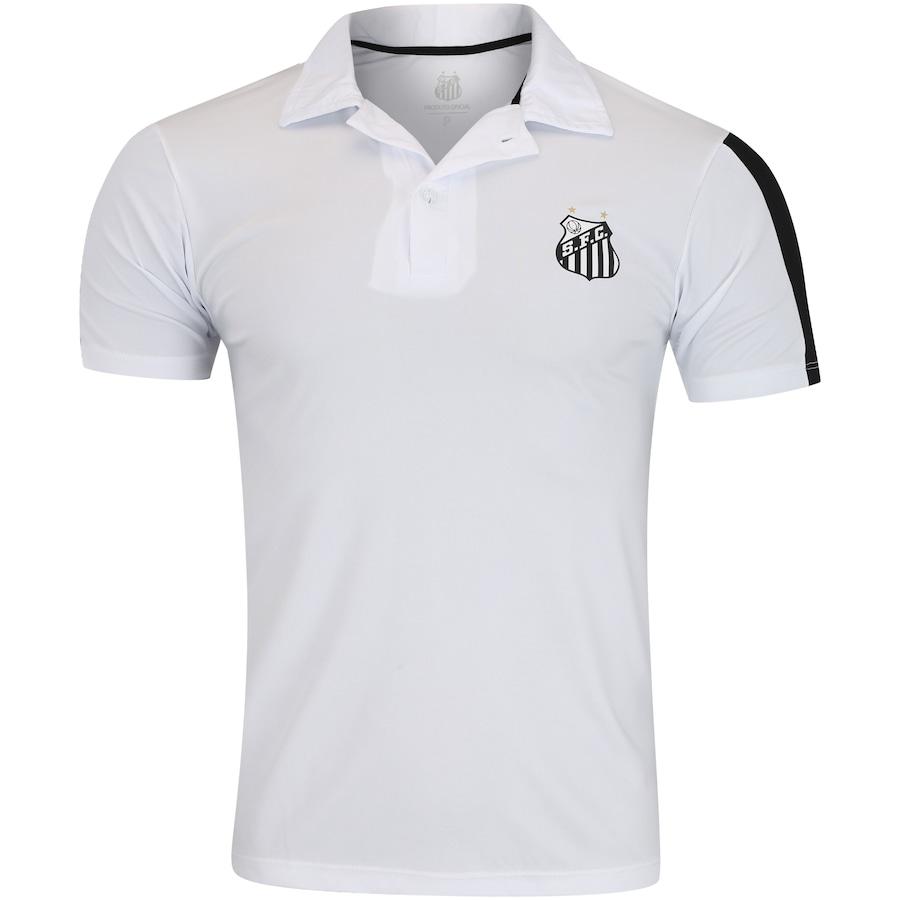 62669ba0f6 Camisa Polo do Santos Faixa Meltex - Masculina