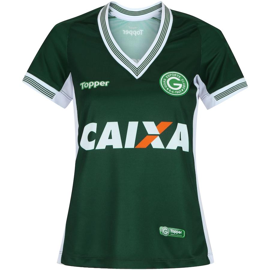 Camisa do Goiás I 2018 Topper - Feminina 48dbac11b1f49