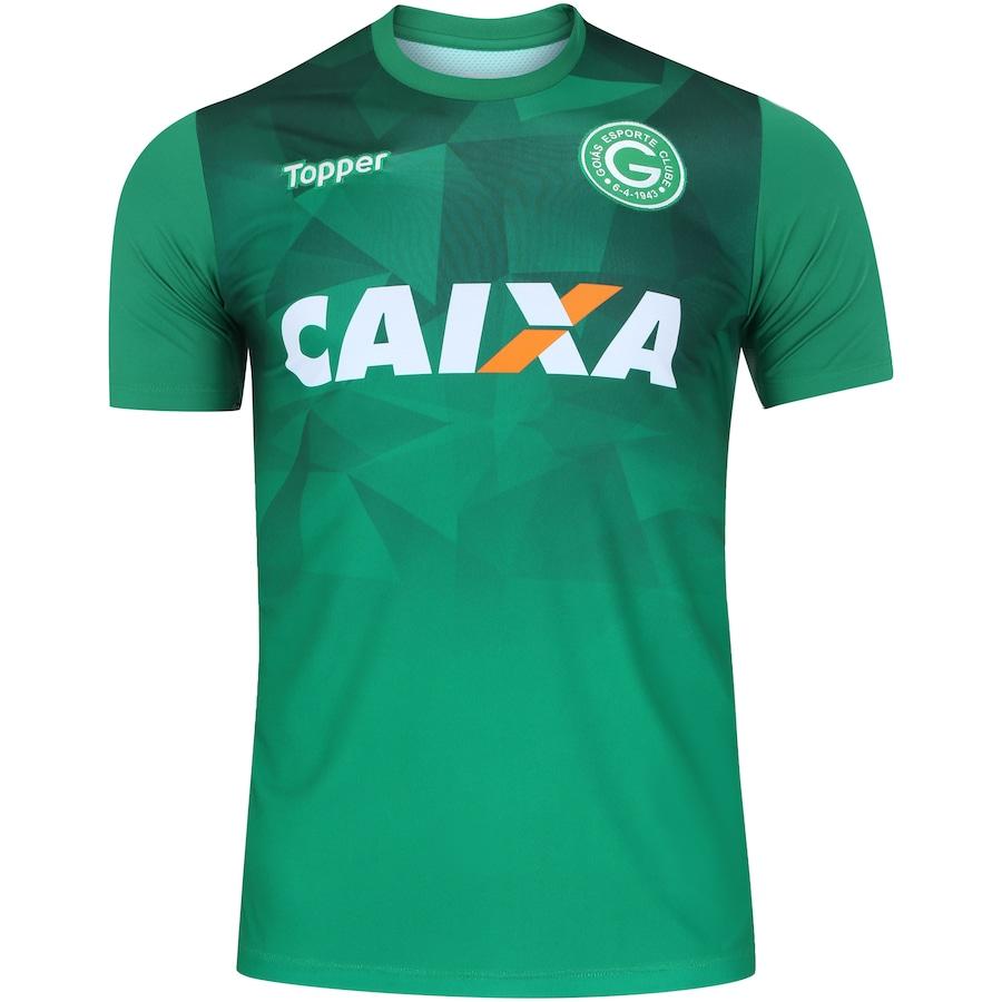 17f398568fc73 Camisa do Goiás Aquecimento 2018 Topper - Masculina