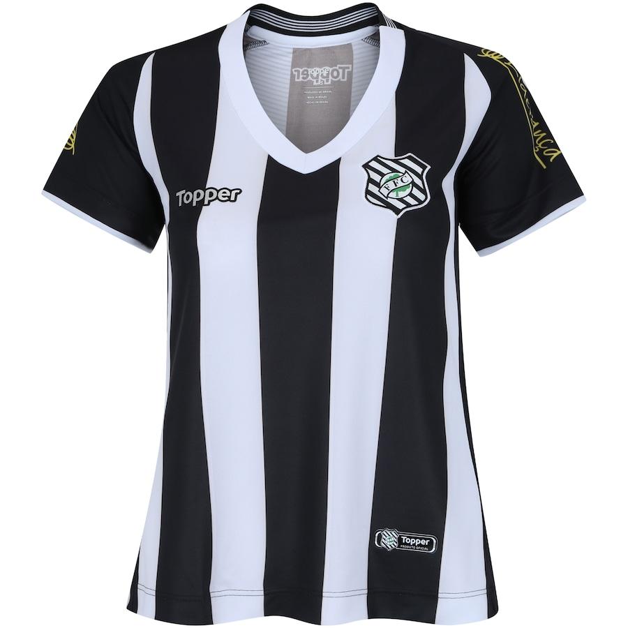 120a67226714f Camisa do Figueirense I 2018 Topper - Feminina