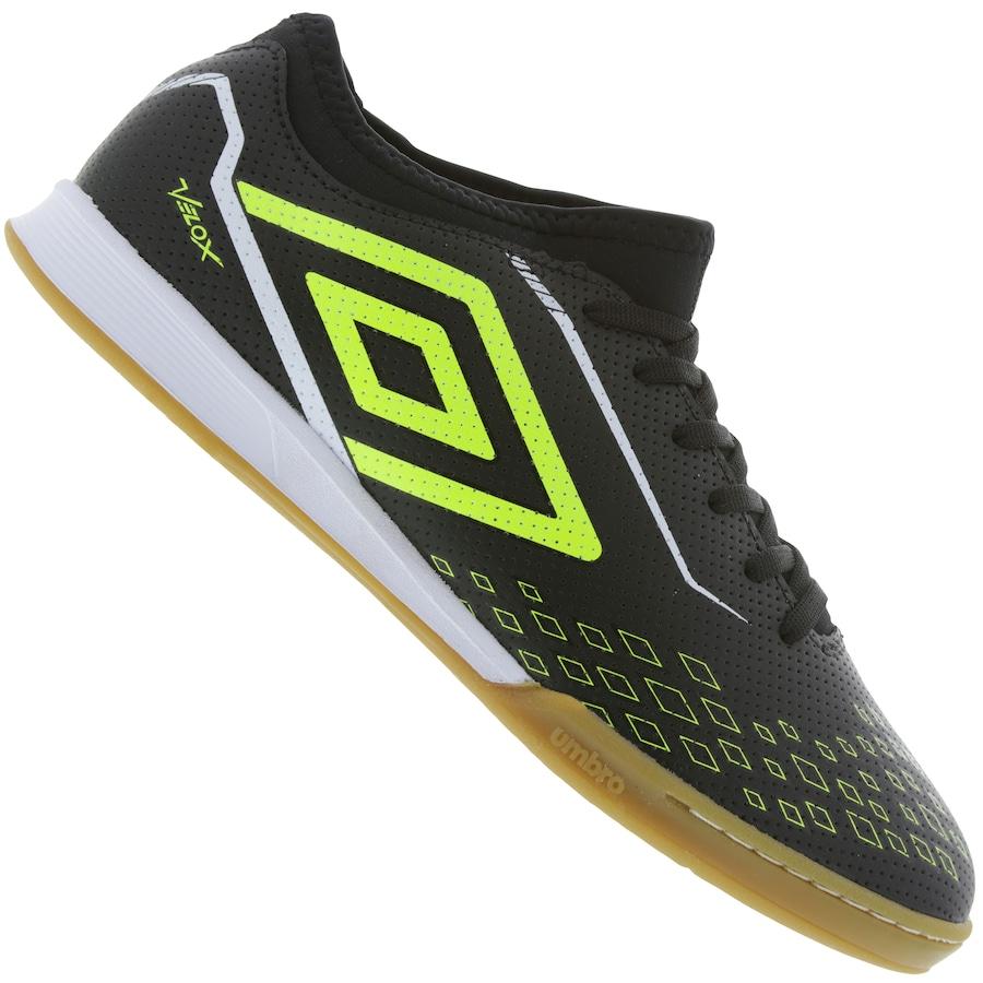 b648eb21ee547 Chuteira Futsal Umbro Velox IC - Adulto