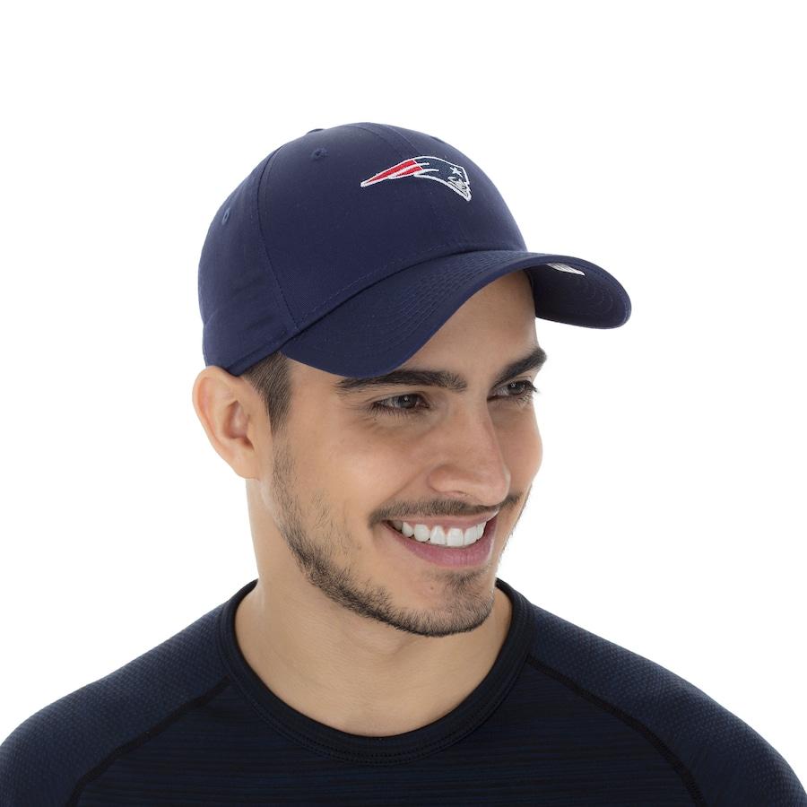 Boné Aba Curva New Era 940 New England Patriots - Snapback - Adulto e1bd2e6d4a4