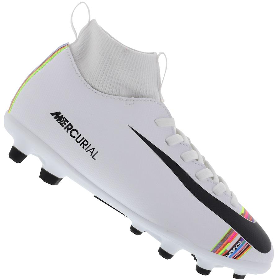 a8a8e740061cc Chuteira de Campo Nike Mercurial Superfly 6 Club CR7 FG/MG - Infantil