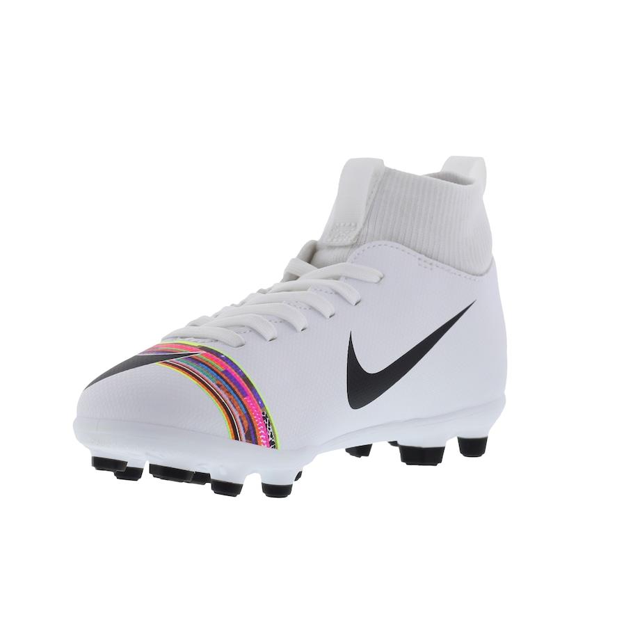 b6948f85690be Chuteira de Campo Nike Mercurial Superfly 6 Club CR7 FG/MG - Infantil