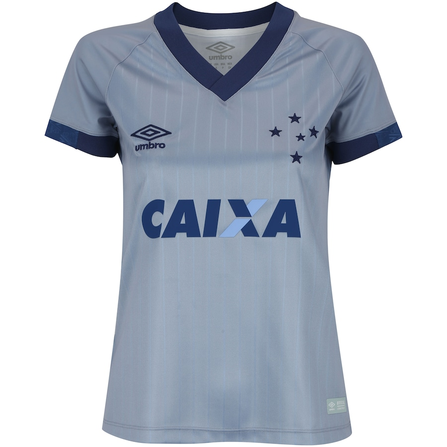 Camisa do Cruzeiro III 2018 Umbro - Feminina 463e406d9e7b4