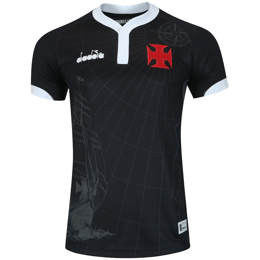 33171d1f93 Camisa do Vasco da Gama III 2018 Diadora - Masculina