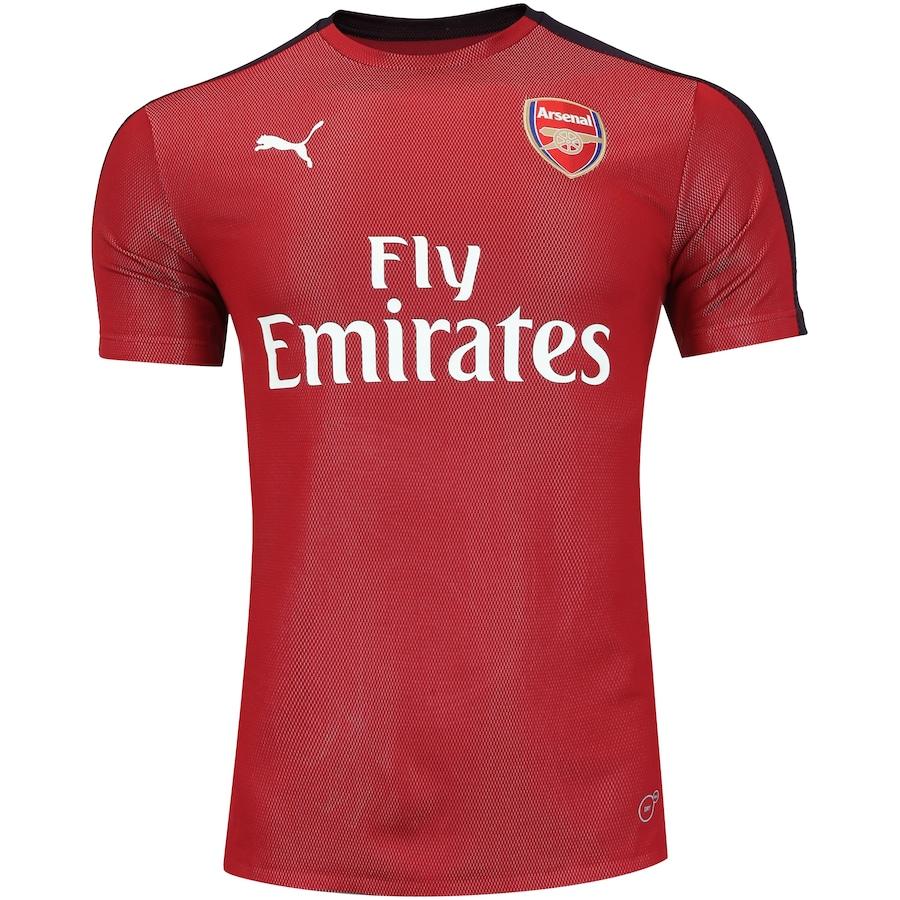 Camisa Pré-Jogo Arsenal 18 19 Puma - Masculina 69b69e2cf2ba4