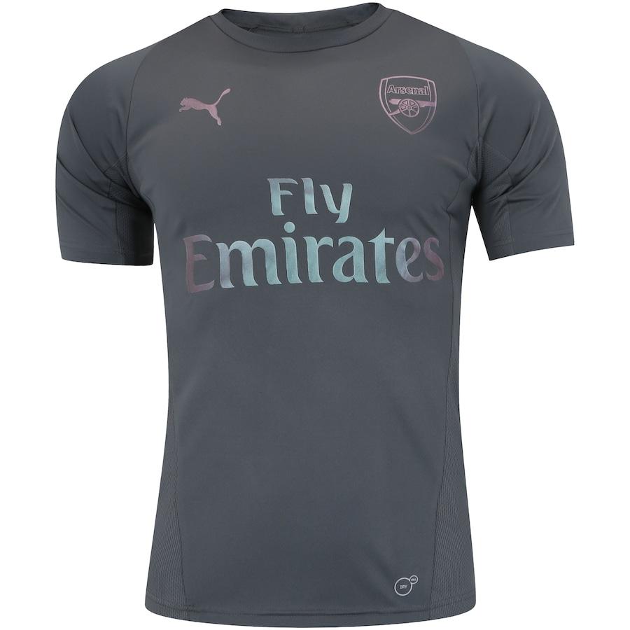 Camisa de Treino Arsenal 18 19 Puma - Masculina 297bfdd518c48