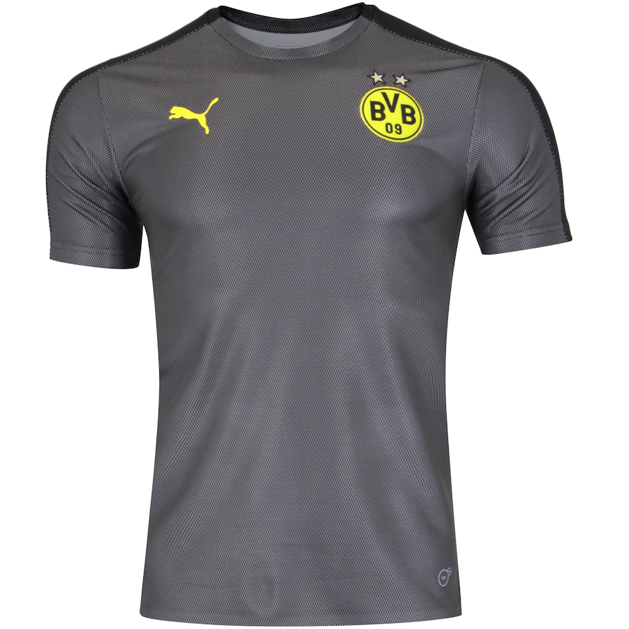5b1755d02120d6 Camisa Pré-Jogo Borussia Dortmund 18/19 Puma - Masculina