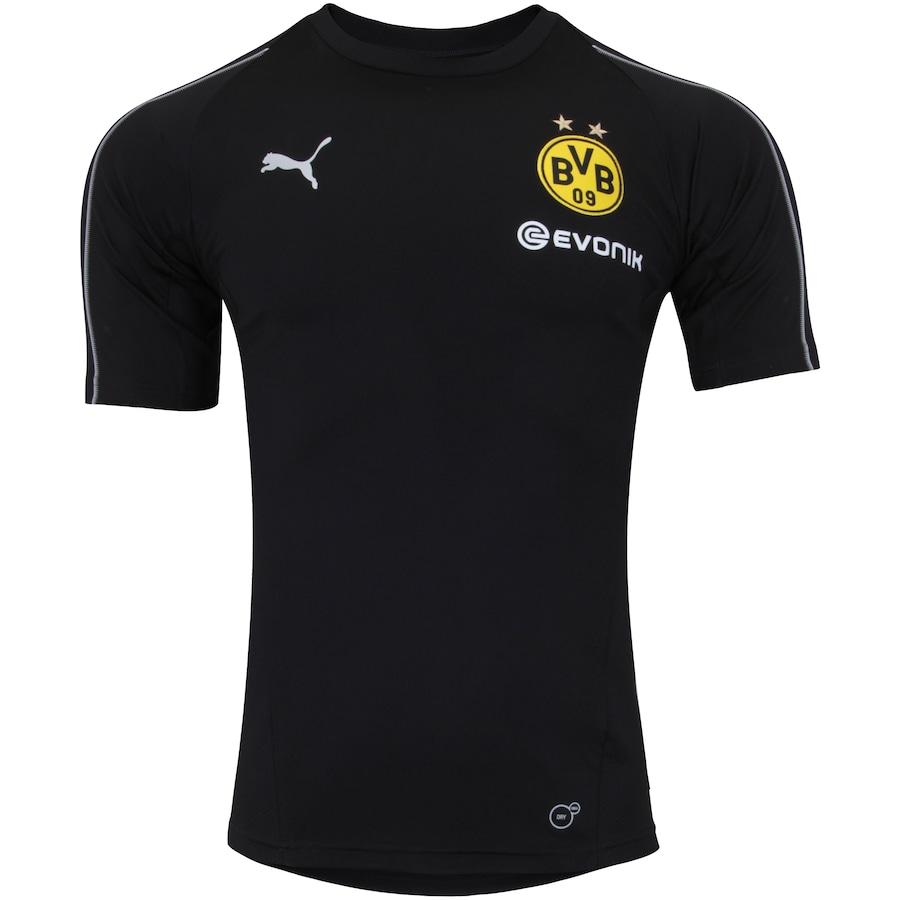 b81acfb63d990 Camisa de Treino Borussia Dortmund 18 19 Puma - Masculina