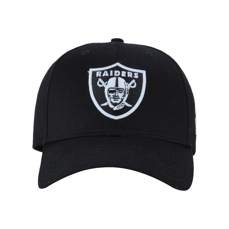 Boné Aba Curva New Era 940 Oakland Raiders Dark - Snapback - Adulto c51648a9904