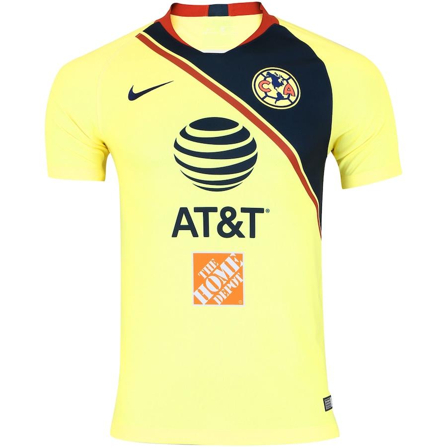 Camisa América do México I 18 19 Nike - Masculina 45521bf7d7466