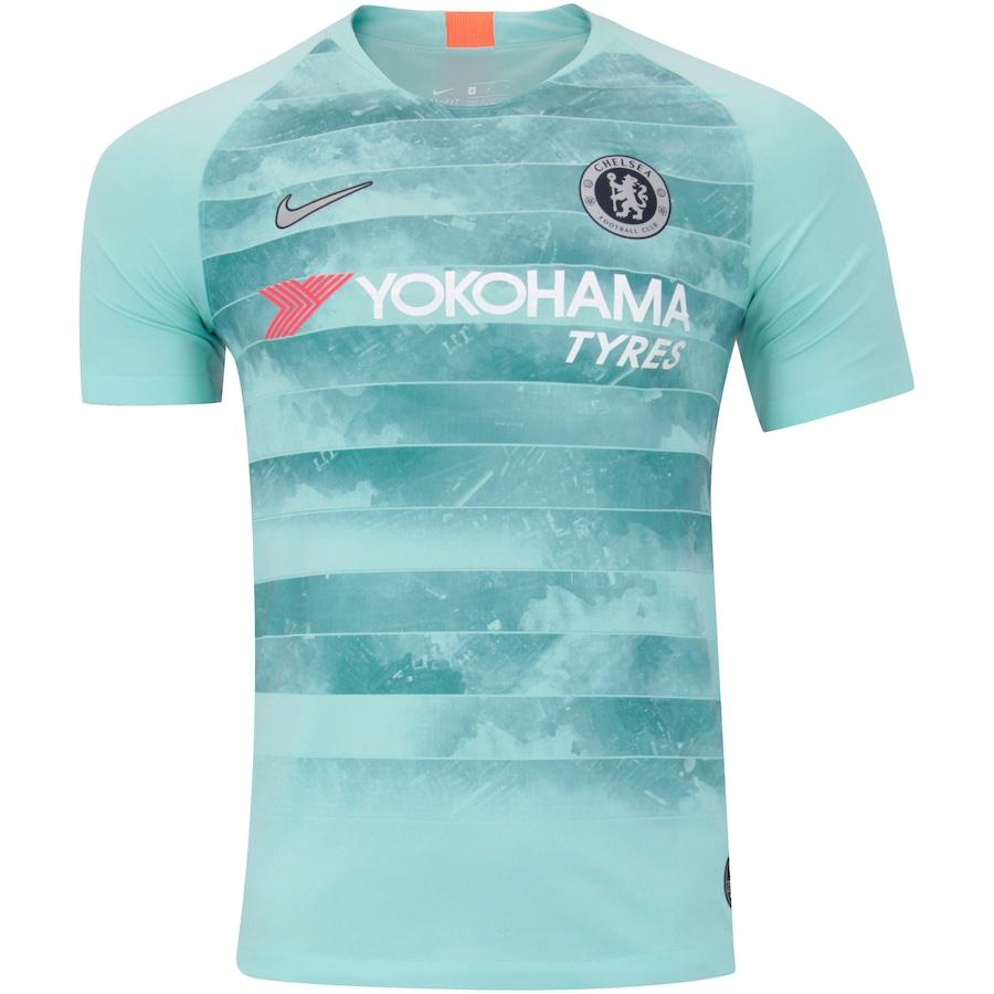 78b86d6147ae2 Camisa Chelsea III 18 19 Nike - Masculina