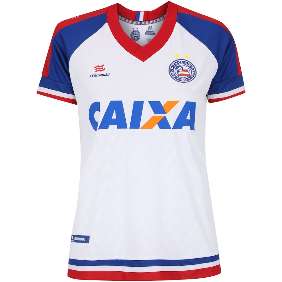 Camisa do Bahia I 2018 Esquadrão - Feminina 0a1b81d0b45