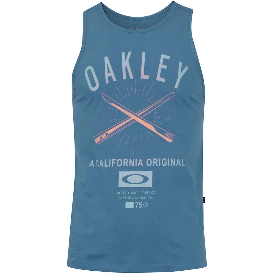 Camiseta Regata Oakley Temple Fight Tank - Masculina 222a6c54901