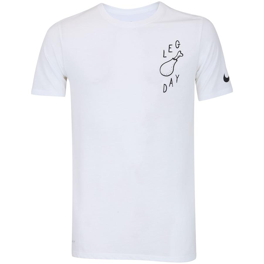 2a5d5a46bb81d Camiseta Nike Dry DB JDQ Leg Day - Masculina