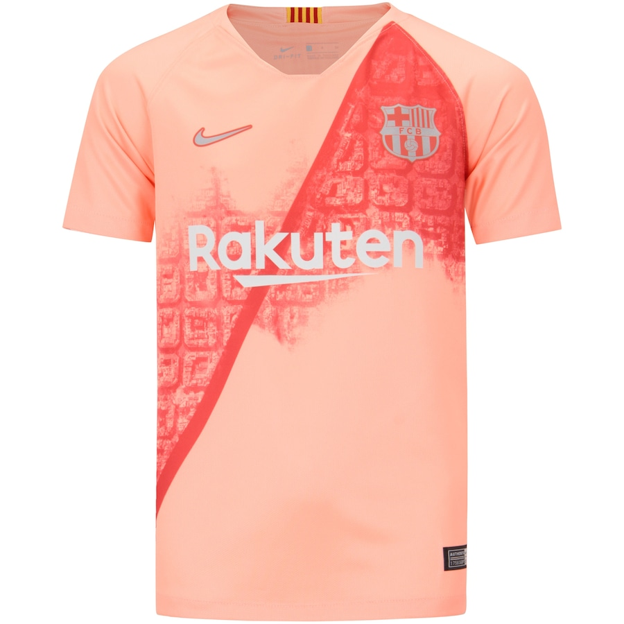 Camisa Barcelona III 18 19 Nike - Infantil 518ca590d7d