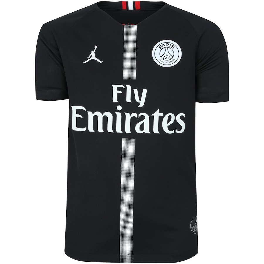 Camisa Jordan X PSG III 18 19 Nike - Infantil 242f9e755ff22