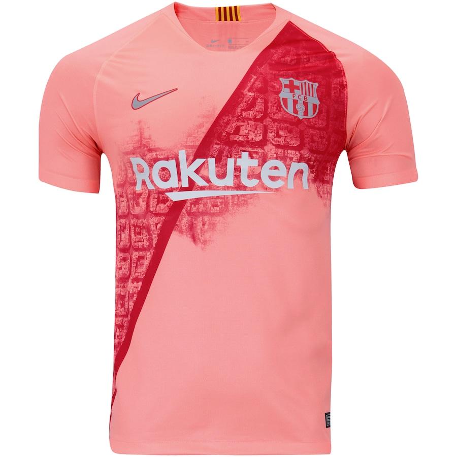 44ae6ddd1201c Camisa Barcelona III 18 19 Nike - Masculina