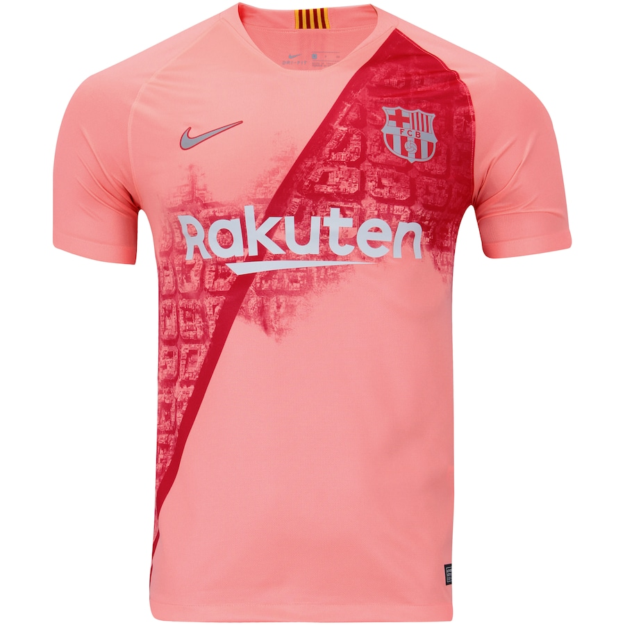 Camisa Barcelona III 18 19 Nike - Masculina d4c64fe27ad2e