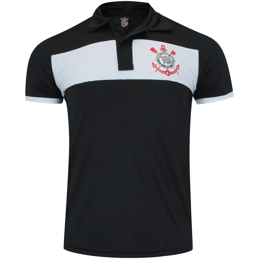 Camisa Polo do Corinthians Basic 18 - Masculina 38dbe212d7bed