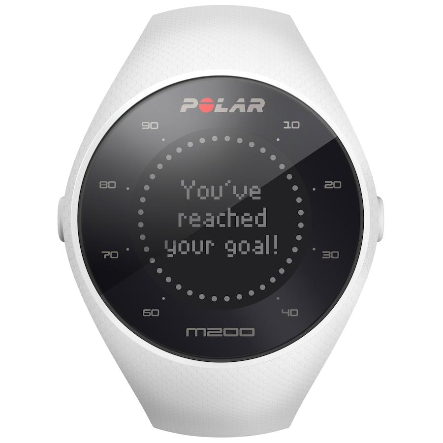 53453db1c29 Relógio Esportivo com GPS e Monitor Cardíaco Óptico Polar M200