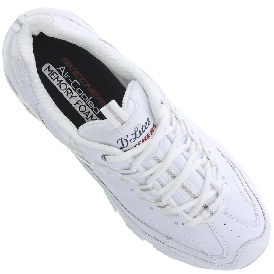 9886b9c0fc0c2e Tênis Skechers D'Lites Fresh Start - Feminino