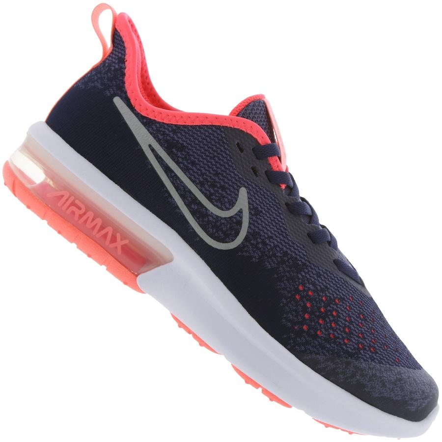 4ce750054ccee Tênis Nike Air Max Sequent 4 Feminino - Infantil