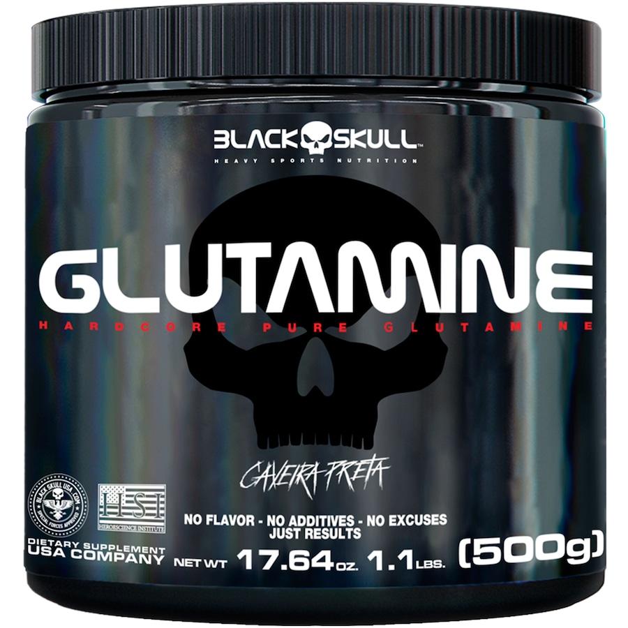 Glutamine Black Skull - 500g
