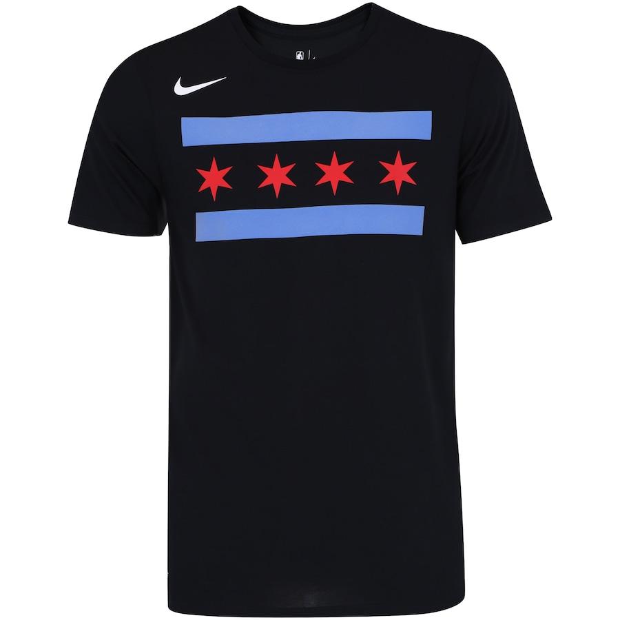 027badf7d9a Camiseta Nike NBA Chicago Bulls City Edition - Masculina