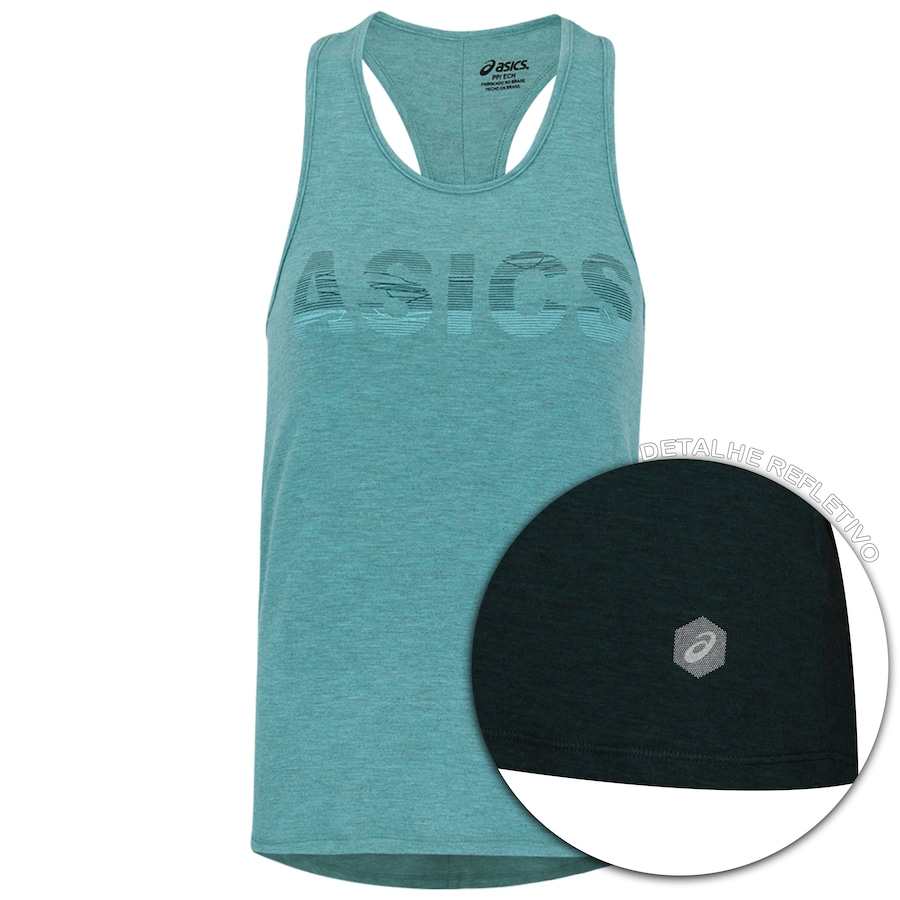 32680e4d9f Camiseta Regata Asics Training Knit Tank - Feminina