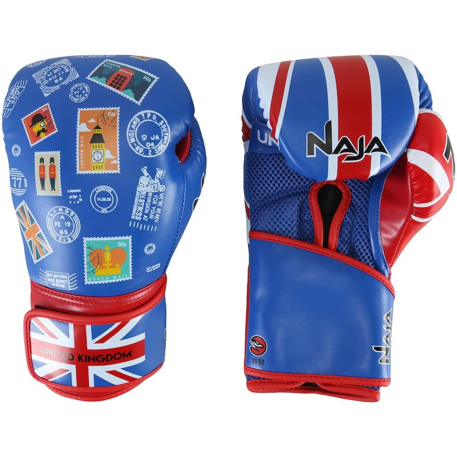 6398fca71 Luvas de Boxe Naja Reino Unido - 14 OZ - Adulto