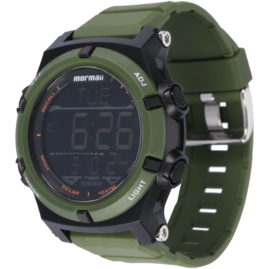 1cd07ba668c Relógio Digital Mormaii MO1192A - Masculino