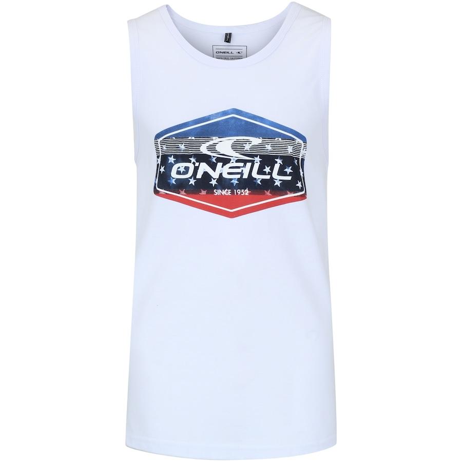 Camiseta Regata O neill Estampada Filler Flag - Masculina 9bb63141258