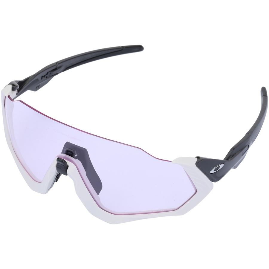 59894f6633dfd Óculos de Sol Oakley Flight Jacket Prizm - Unissex