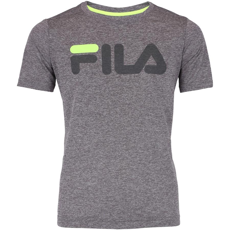 9f831fe8c40 Camiseta Fila DNA Mescla Feminina - Infantil