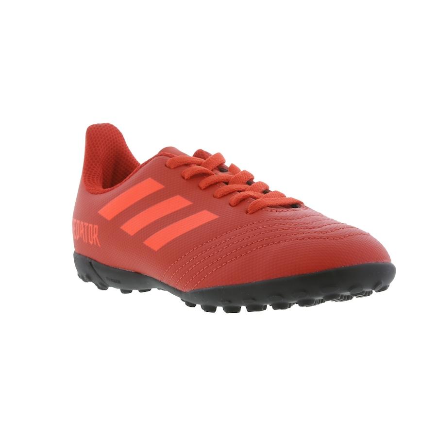 Chuteira Society adidas Predator 19.4 TF - Infantil 10dafd8a6e1e2