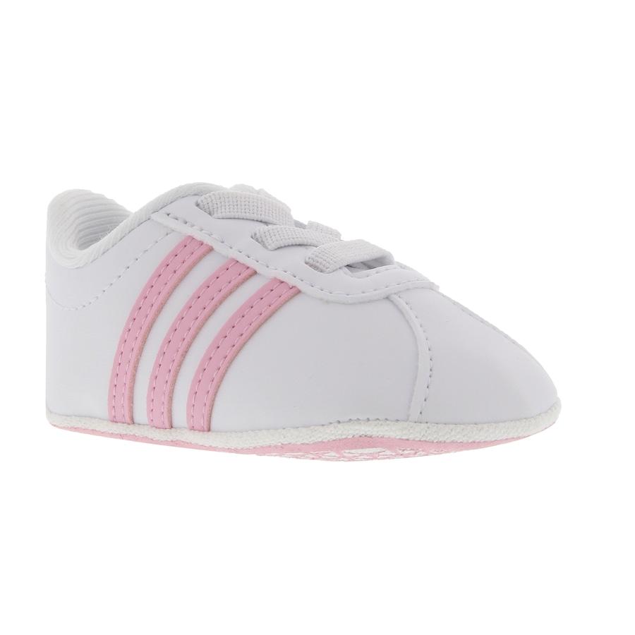 e20e0bbe7e Tênis para Bebê adidas VL Court 2.0 Crib Feminino - Infantil