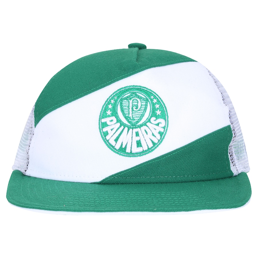 Boné Aba Reta do Palmeiras New Era 950 - Snapback - Trucker - Adulto 6d3cef03ea1