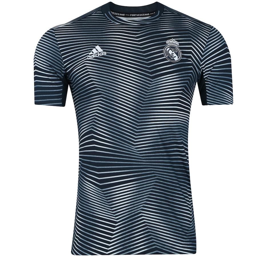 9e10a916e5 Camisa Pré-Jogo Real Madrid 18 19 adidas - Masculina