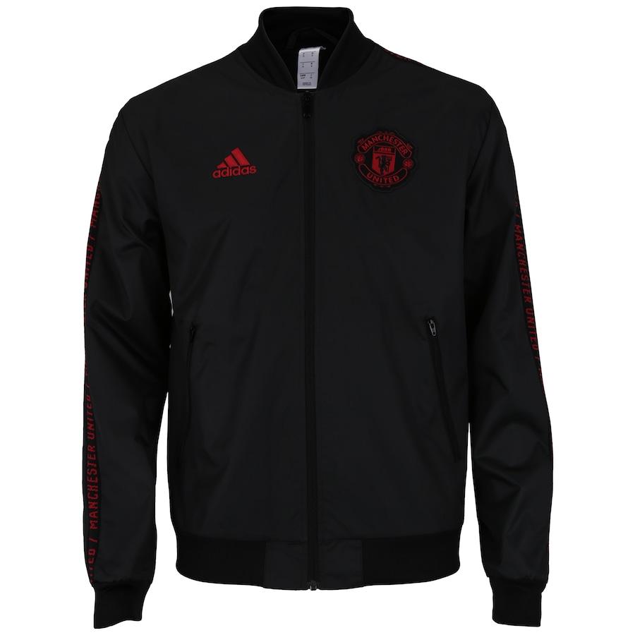 281a9657bdd7f5 Jaqueta Manchester United Hino adidas - Masculina