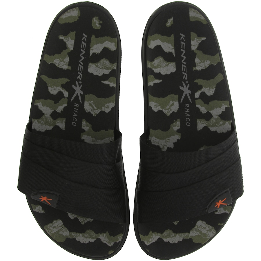 87ca44c02c Chinelo Kenner Rhaco S On Hold Camuflado - Slide - Masculino
