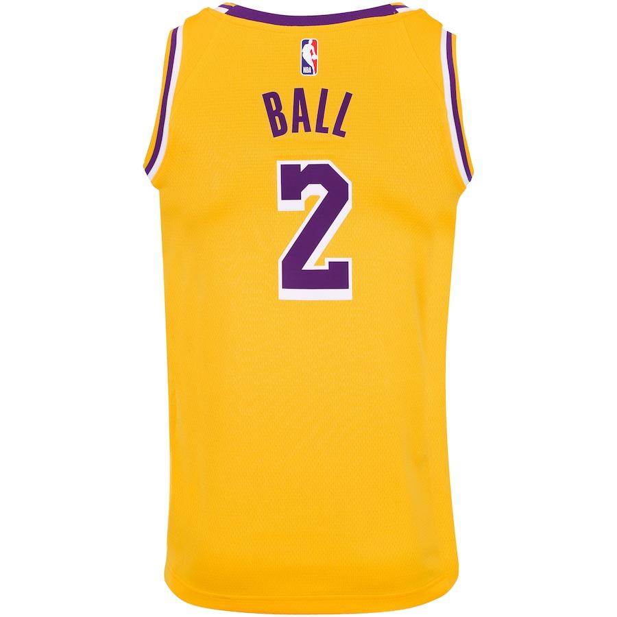 a42a77d83d Camisa Regata Nike NBA Los Angeles Lakers Icon Edition Swingman - Masculina