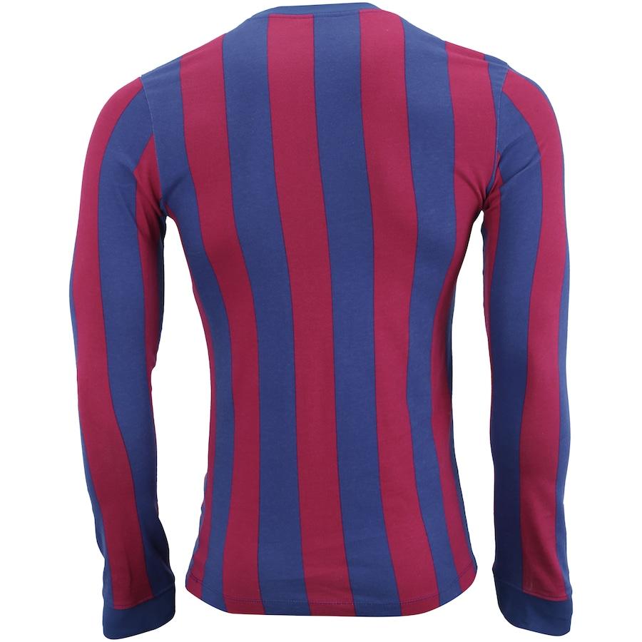 314a609fab Camiseta Manga Longa Barcelona Retrô Nike - Masculina