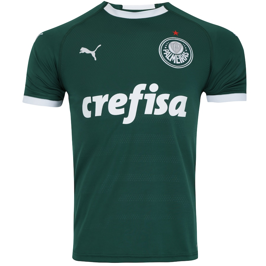 cf7e81ab4 Camisa do Palmeiras I 2019 Puma - Masculina