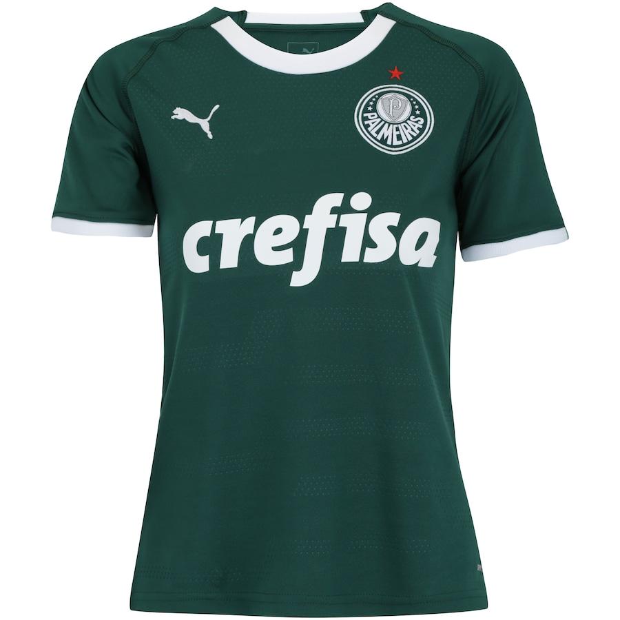 8dd2eb2ee3815 Camisa do Palmeiras I 2019 Puma - Feminina