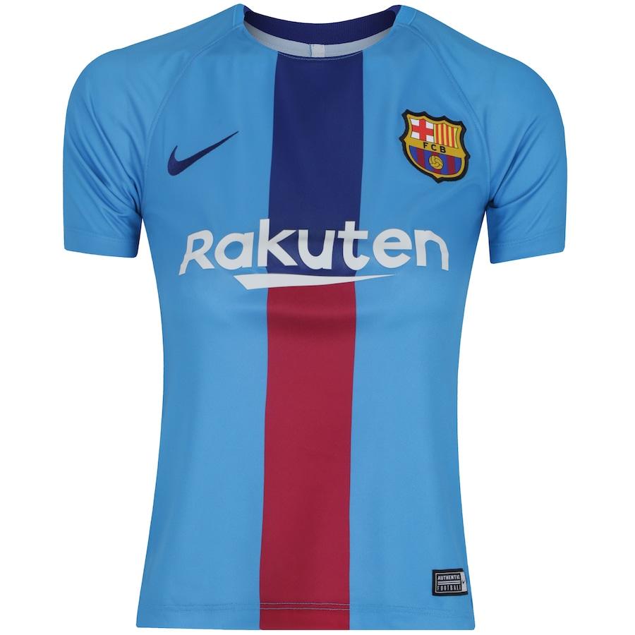 Camisa de Treino Barcelona 19 20 Nike - Infantil 3546737fd4b81