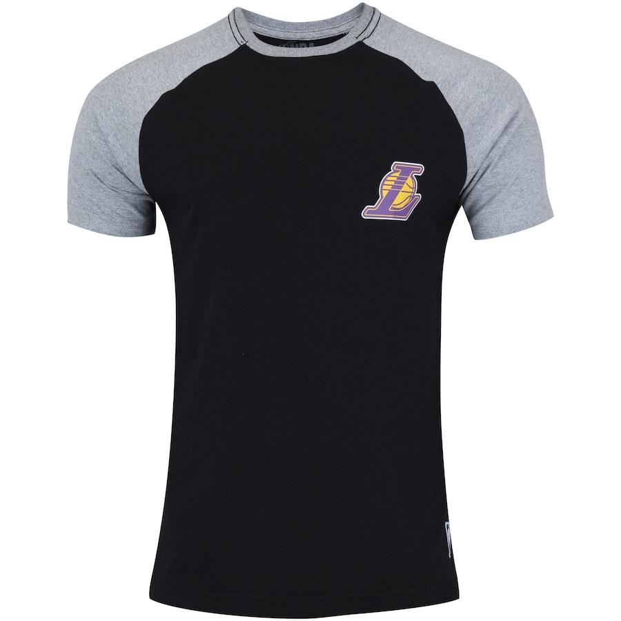 a3031b705 Camiseta NBA Los Angeles Lakers Mini Logo - Masculina